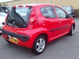 2010 Peugeot 107 1.0 Verve 5dr 5 door Hatchback