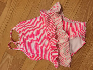 Swimsuit never worn 9-12 months