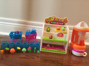 Shopkins fruit and vegetable playset