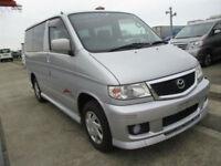 Mazda Bongo, 2004, Auto, Petrol, Silver, low mileage, 36 month dealer warrantee