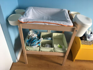 Table de langer- changing table