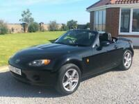 07 57 MAZDA MX-5 1.8i ROADSTER, OPTION PACK, HEATED LEATHER TRIM, ELECTRIC ROOF!