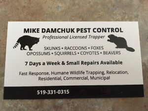 Animal Pest Control & Removal