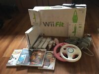 Wii incl wii fit