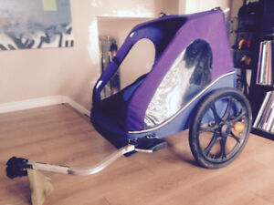 Chariot 2 child bicycle trailer