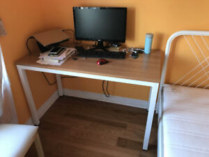 """Desk 47"""" Large Size Office Desk Writing Desk computer desk"""