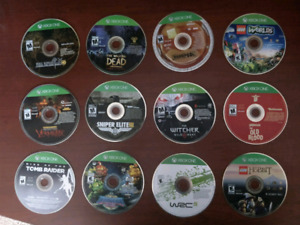 12 x Xbox One Games