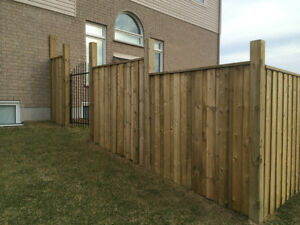 Fence and Deck, Post hole drilling!! Cambridge Kitchener Area image 1