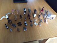 30 Various Schleich Animals
