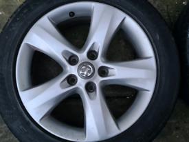 "Vauxhall Astra J, Zafira Tourer 17"" Alloys / Wheels"