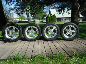 "AMERICAN RACING 5 SPOKE 16"" - 5 X 108mm & 4.5"""
