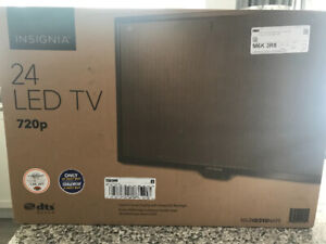 Boxed brand new led insignia 24 inch tv