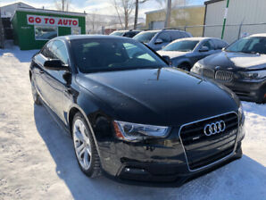 2013 Audi A5 Premium S-line Quattro Coupe - Leather, sunroof