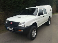 PART EXCHANGE TO CLEAR - 53 REG - MITSUBISHI L200 2.5 TURBO DIESEL 4X4 PICK UP
