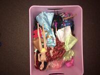 Brat dolls/barbie / Disney princess dolls