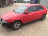 Audi A3 1.6 petrol breaking for spares