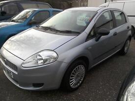 2006 Fiat Grande Punto 1.2 Active 5Dr Grey 72K Ideal 1st Car Excellent Condition