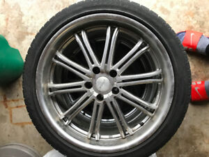 Pirelli Winter Sottozero Serie II with rims (245/40R20)