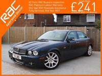 2008 Jaguar XJ 3.0 V6 240 BHP Sovereign 6 Speed Auto Sat Nav Full Leather Heated