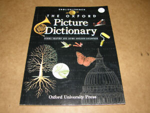 The Oxford Picture Dictionary English/French (L04-19) - 12$