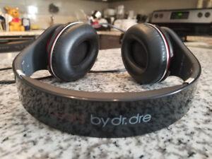 Black Beats Headphones Wired - $75 firm