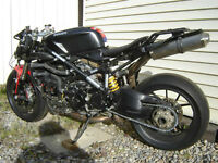 2010  Ducati 1198 project only as has non-repairable title
