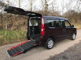 2014 Fiat Doblo 1.4 16V MyLife 5dr WHEELCHAIR ACCESSIBLE VEHICLE 5 door Wheel...