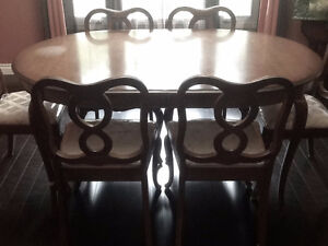 FRENCH PROVINCIAL DINING TABLE – $99.00