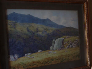 Original Watercolour by Henry Bailey (1848 - 1933) United Kingdo
