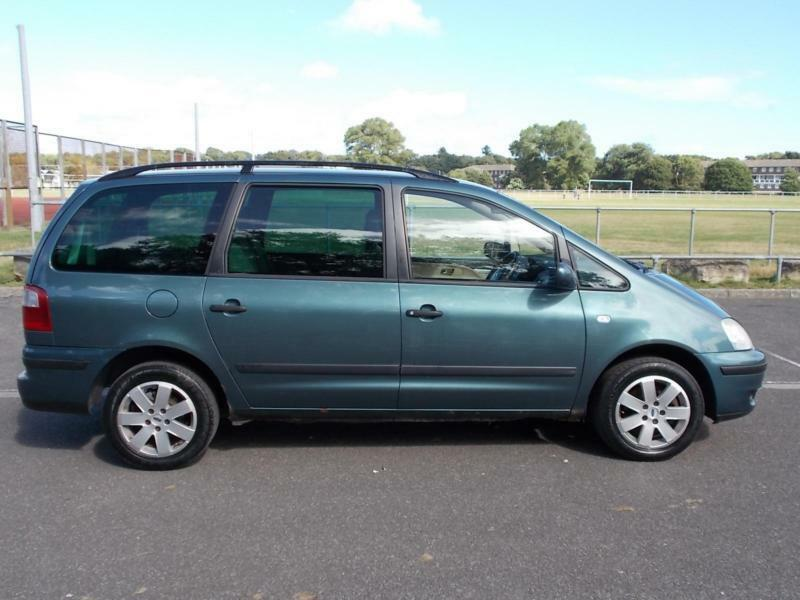 Ford Galaxy 1.9TD ( 115ps ) 2002 COMPLETE WITH M.O.T HPI CLEAR INC WARRANTY