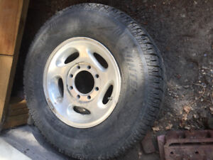 Dodge 16 inch rims and tires