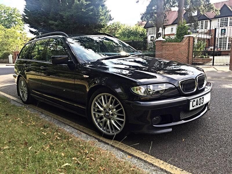 bmw 330d m sport touring auto ruby red leather 78k miles fsh hpi clear big spec e46. Black Bedroom Furniture Sets. Home Design Ideas