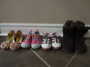 Bulk Lot of Toddler Girls Size 6-8 shoes