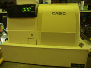 CASIO PCR-T2300 THERMAL ELECTRONIC CASH REGISTER 10 LINE LCD 700