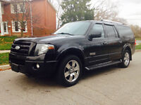 2007 Ford Expedition Max,Top of the line leather/Navi/8passenger