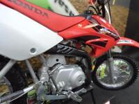 Honda CRF 70cc Motocross Bike