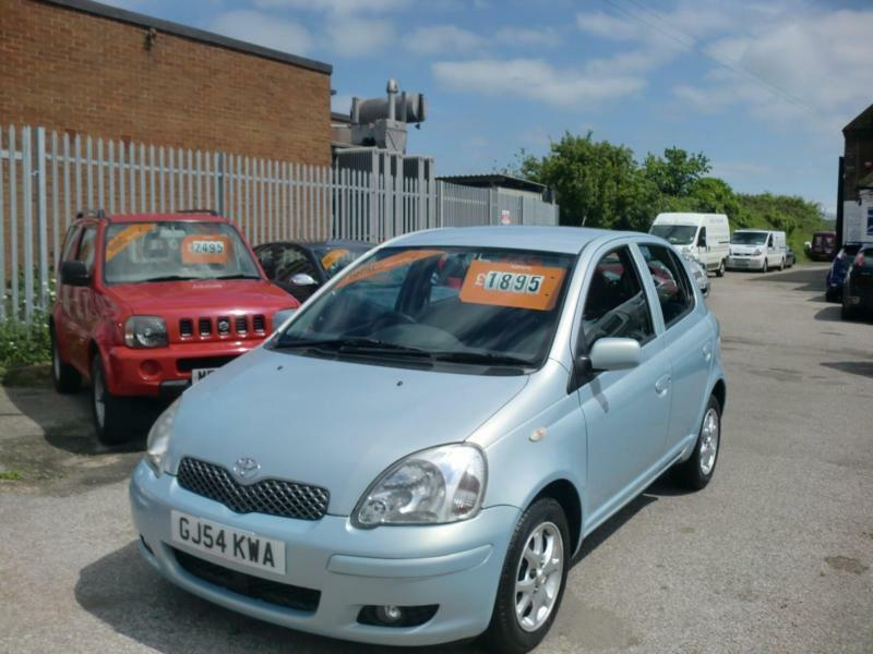 2004 54 toyota yaris 1 3 vvt i blue in herne bay kent gumtree. Black Bedroom Furniture Sets. Home Design Ideas