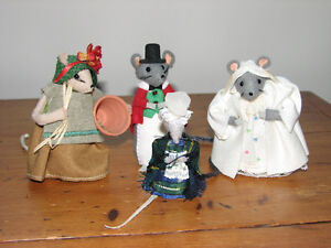 Handsewn Mice from Great Britain
