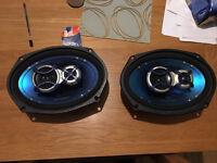 Blaunkput 6x9 150watt speakers