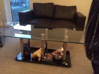 ONLY GLASS COFFEE TABLE FOR SALE