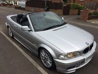 BMW 330ci Msport convertible