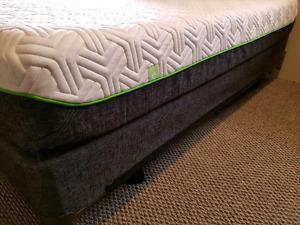 Tempurpedic Mattress Bed Set Brighton Queen - Split Boxspring