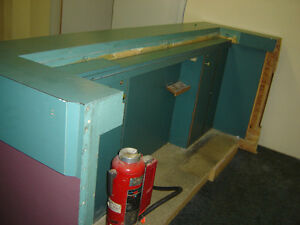 $500 · Store front Counter Made out of solid plywood and arbri Regina Regina Area image 4
