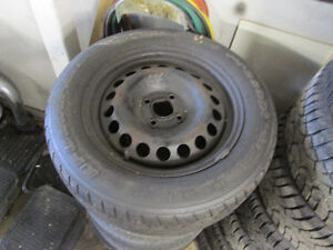 2 Good tires and rimes 195-60-15