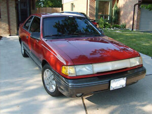 Mercury Topaz LTS Or a Ford Tempo GLS Bumper With Fog Lights Stratford Kitchener Area image 1