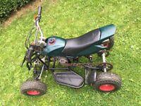 49cc 2 stroke mini moto quad bike / off road / dirt bike