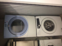 3yr old Stackable Washer Dryer combo Samsung/Whirpool 27'