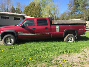 Chevy Crew Cab 4WD Truck