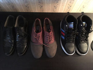 Adidas Hightops, Polo and Spring Dress Shoes