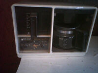 GE under counter coffee maker